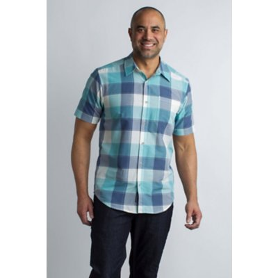 Men's Next-To-Nothing™ Artesia Plaid Short-Sleeve Shirt