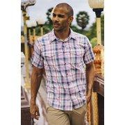 Men's Next-To-Nothing™ Pindo Print Short-Sleeve Shirt image number 3
