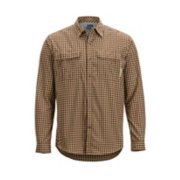 Men's BugsAway® Halo™ Check Long-Sleeve Shirt image number 0