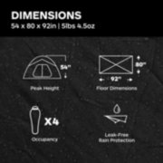 Tungsten Ultralight 4-Person Tent image number 8