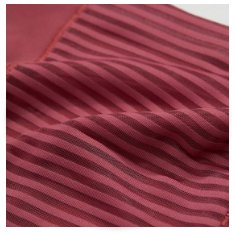 striped pink fabric