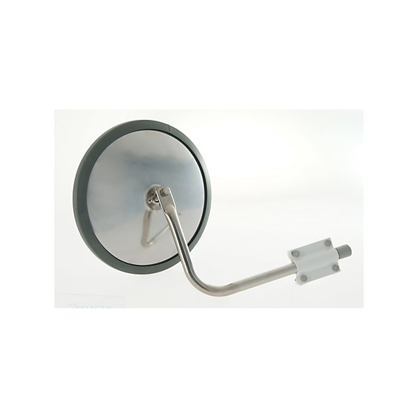 """Grote - Mirror - Exterior Rear View 10 1/2"""" Convex, Cross Over Mirror Stainless Steel - GRO28493"""