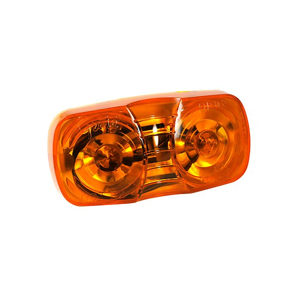 Grote - Lamp / Clearance & Marker Square Corner Amber - GRO46793
