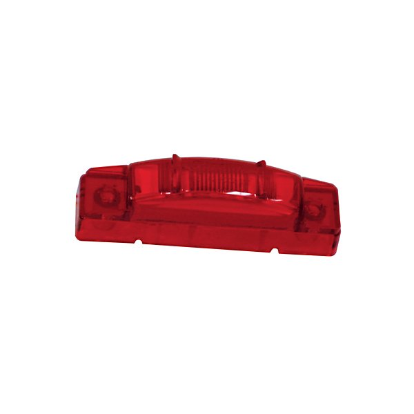 Grote - Lamp / Clearance & Marker SuperNova, 3 in. Center, Thin-Line Clearance/Marker LED Red - GRO47462