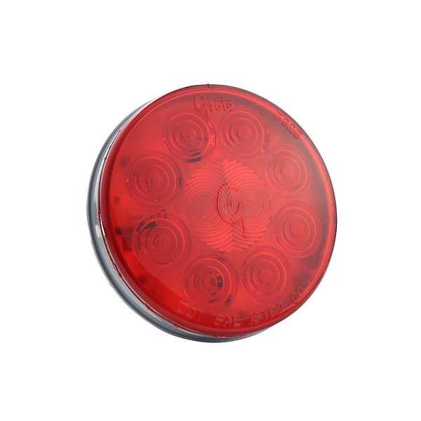 Grote - Lamp / Stop, Turn & Tail High Performance, SuperNova, 4 in., 10-Diodes Pattern, Stop/Tail/Turn LED Lamp Red - GRO53552