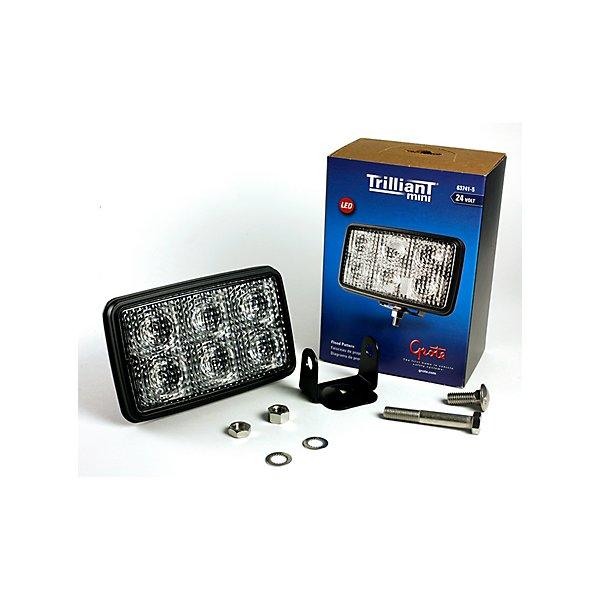 Grote - Forward Lighting, Clear, Work Lamp, Led, Flood Pattern, 24 Volt - GRO63741-5
