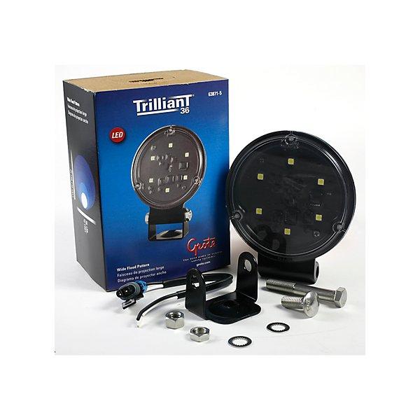 Grote - Forward Lighting Trilliant T36 W/Bracket - Wide Flood Lamp - GRO63871-5