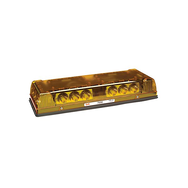 Grote - Lamp / Emergency Low Profile LED Mini-Light Bar Yellow - GRO76983