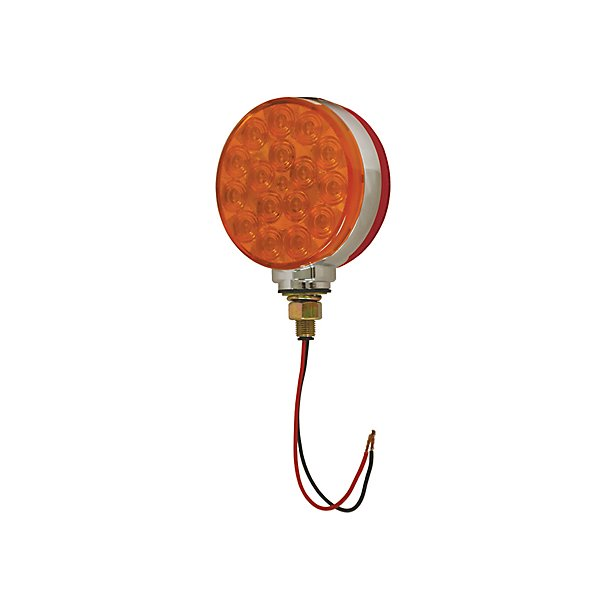 Grote - Lamp / Stop, Turn & Tail Hi Count LED Double Face Lamp Red And Yellow - GROG5300