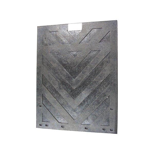 National Rubber Technologies - Mud Flap Sandard 1/4 X 24 X 30 in Chevron Model - MUD062430T