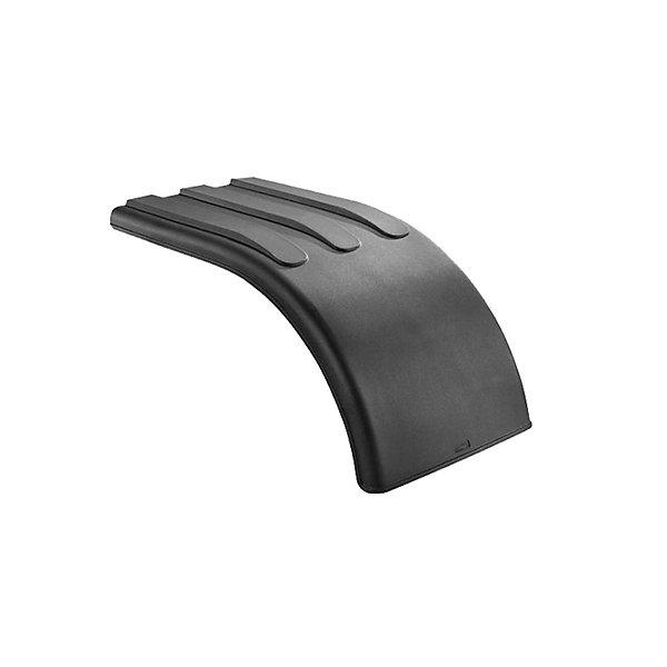 Nu-Line - Poly Half Fenders Black Pair - NULNF66PX