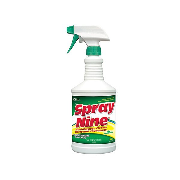 - Spray Nine Heavy Duty Cleaner/Degreaser/Disinfectant - 946 ml - PTXC26832