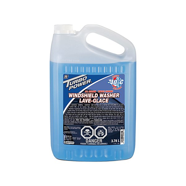 Recochem - Turbo Power Windshield Wash -40 Degree C - 3.78 L - RCM15-204X52
