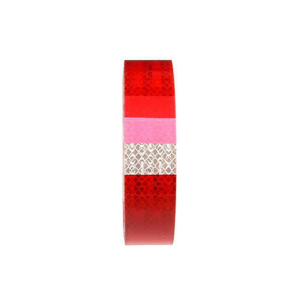Truck-Lite - Signal-Stat, Red/White Reflective Tape, 2 in. x 150 ft. - TRL37