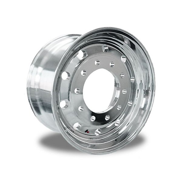 Alc823628 Aluminum Wheel 22 5 In X 12 25 In Clean Buff Both Sides Traction Com