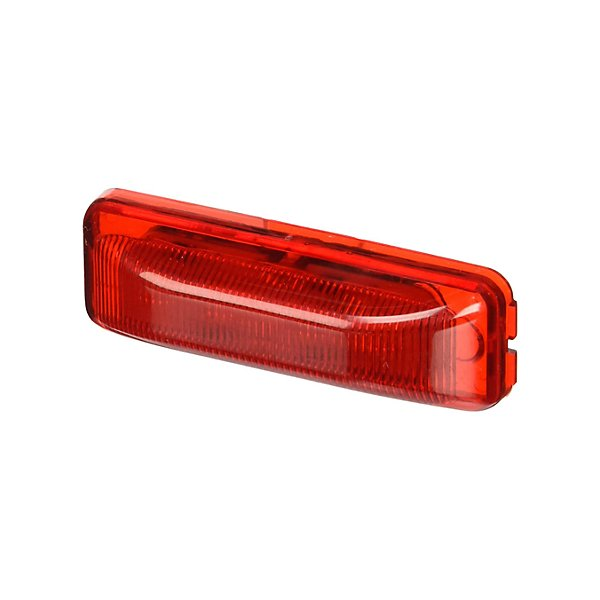 Truck-Lite - Signal-Stat, LED, Red Rectangular, 4 Diode, Marker Clearance Light, P2, Male Pin, 12V - TRL1960