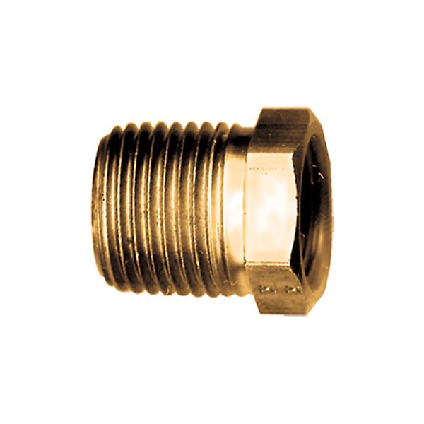 Fairview - Bushing 3/8 MPT X 1/4 FPT - Brass Pipe Fitting - FAI110-CB