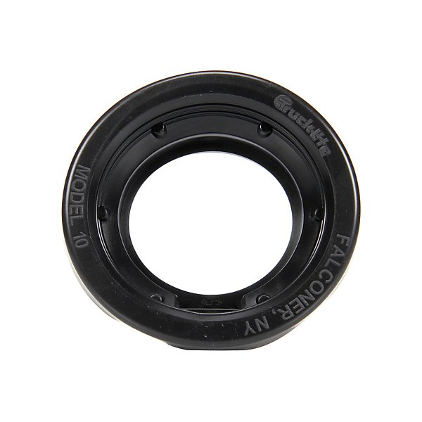Truck-Lite - Open Back, Wide Groove, Black PVC, Grommet for 10 Series and 2.5 in. Lights, Round - TRL10700