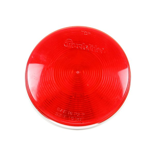 Truck-Lite - 40 Series, Incandescent, Red, Round, 1 Bulb, Stop/Turn/Tail, PL-3, 12V - TRL40202R