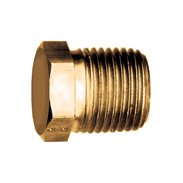 Fairview - Plug Hex Head 3/4 MPT - Brass Pipe Fitting - FAI121-E