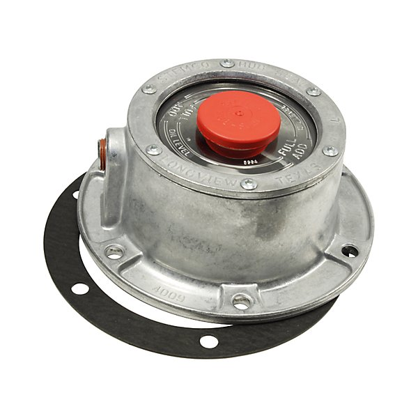 Stemco - Trailer Hub Cap with Side Filling Hole and 3009 Gasket. Box - STM343-4009