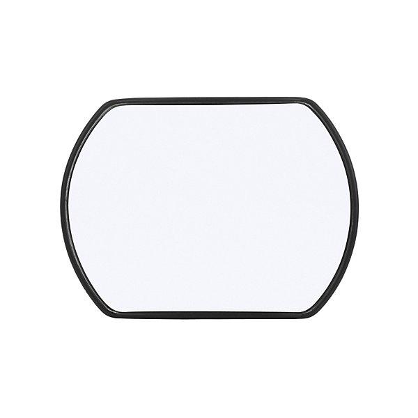 Truck-Lite - Signal-Stat, 4 x 5 in., Black Plastic Stick-On Convex Mirror, Rectangular, Universal Mount - TRL7048
