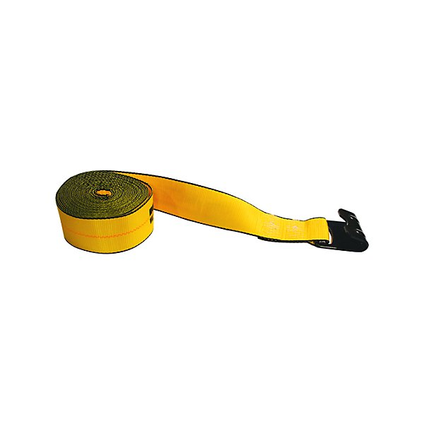 Traction - Traction 3 in. Winch Strap with 1021 Flat Hook - 30 ft. - NKI323021-990340