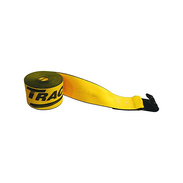 Traction - Traction 4 in. Winch Strap with 1021 Flat Hook - 30 ft. - NKI423021-702622
