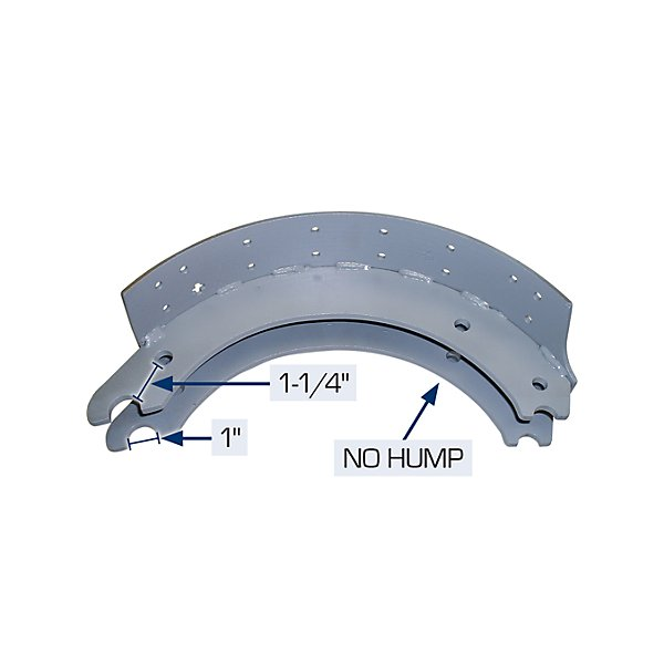 HD Plus - New Brake Shoe Kit 4707FLOE - TRB046M04-6N