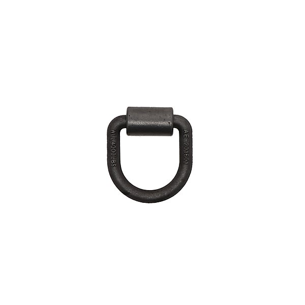 Kinedyne - 1/2 in. Forged Steel HD D-Ring with Weld-On Clip - KIN80136