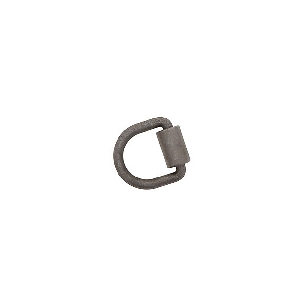 Kinedyne - 5/8 in. Forged Steel HD D-Ring with Weld-On Clip - KIN80137
