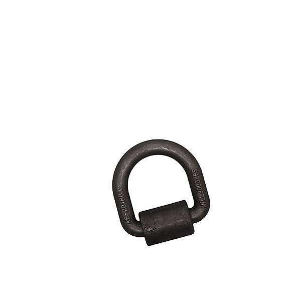 Kinedyne - 3/4 in. Forged Steel HD D-Ring with Weld-On Clip - KIN80138