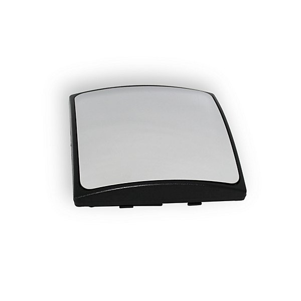 "Velvac - Glass Housing - Convex Mirror Model 409, Black, Manual, Glass Size 6-3/4""w x 6-3/4""h - VELV153882120"