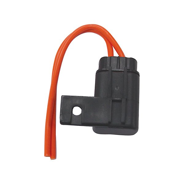 Grote - Ato Fuse Holder, 12 Ga, 30 Amp, W Cap & Mounting Tab - GRO82-2166