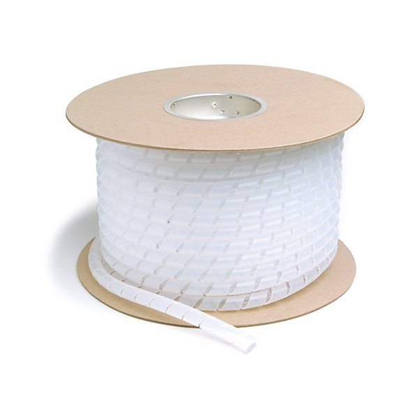 Grote - Spiral Wrap, Clear, 1In, 100 Ft - GRO83-9004