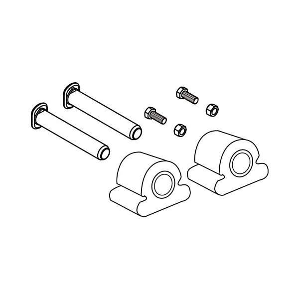 SAF-Holland - Kit-Bracket Pins & Cushion (Fw8 & Fw35 Series) - HOLRK-06973-1
