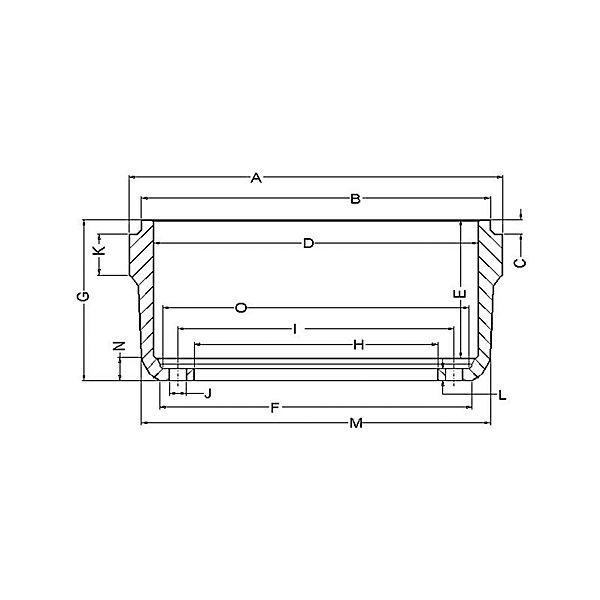 Gunite - Trailer Brake Drum 12-1/4 X 7.50 in - GUN3887