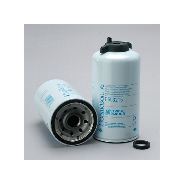 Donaldson - Fuel/Water Separator, Spin-On L: 7,62 in, Tread : 1-14 UN , OD: 3,66 in - DONP553215