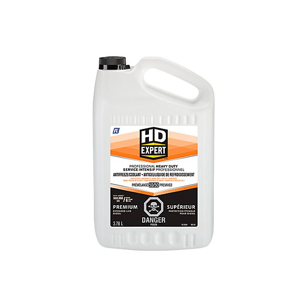 Recochem - H.d. extended life antifreeze/coolant 50/50 pre-diluted (red) - RCM16-834X52