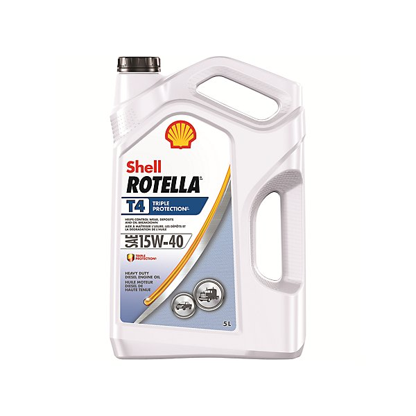 Shell - Rotella T4 Triple Protection 15W40 Motor Oil - 5 L - SHE550045135