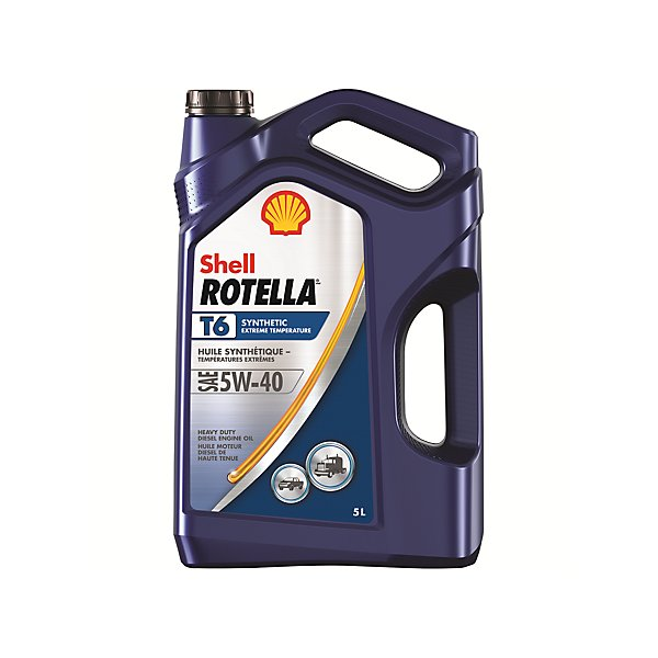 Shell - Rotella T6 5W40 Motor Oil - 5 L - SHE550045390