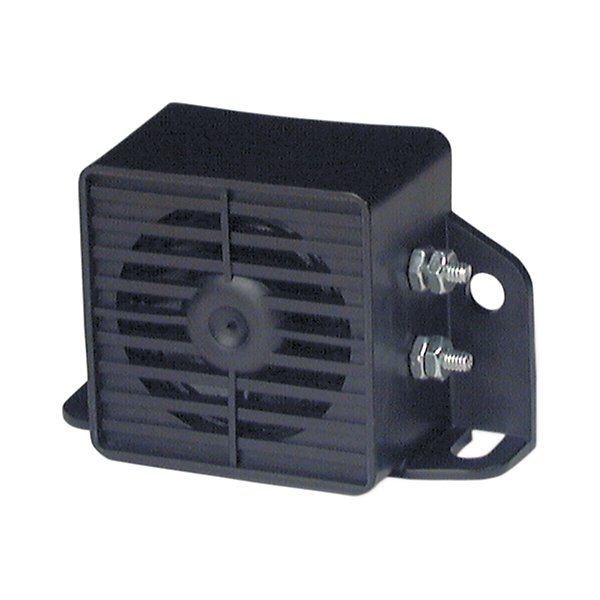 Truck-Lite - Single Sound Regulation, 97 DB Steam Cleanable, Back-Up Alarm, 2 Screw, Bracket Mount, 2 Bolt Terminal 12V - TRL92900