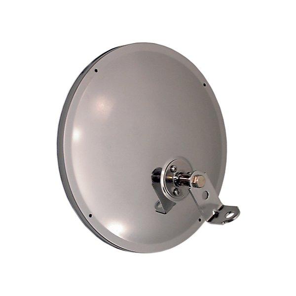 Truck-Lite - 8.5 in., Silver Steel Convex Mirror, Round, Universal Mount - TRL97814