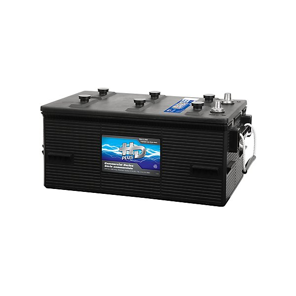 HD Plus - Premium Battery - 12V - Group 8D - 1400 CCA - 1720 CA - Flooded Lead-Acid - HBA8DHD
