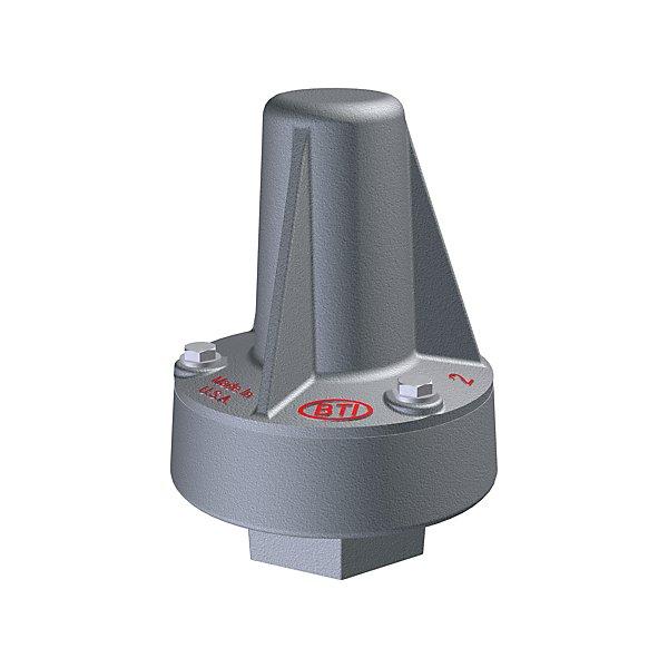 Bulk Tank Inc. - Aluminum 2 in. Pressure Relief Valve for Tank Trailer - BTIBTRV-2250-15-T