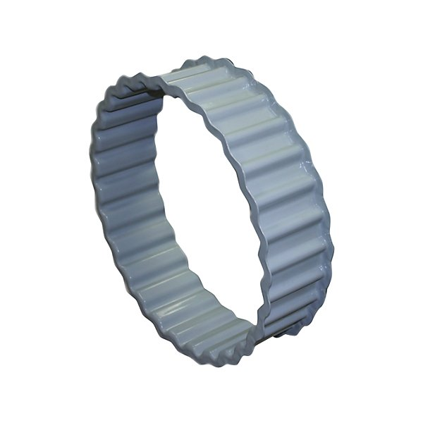 HD Plus - Grey Powder coat paint SAE 1010, 0.075 20 in. x 4 1/4 in.  Wheel Spacer Band - HDWHDSB4020C