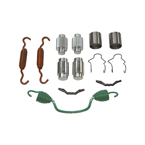 HD Plus - Brake repair kit - for Mack with Meritor 16-1/2 in. Q front brake - b348 spring replaces b871 - BHKBHK020