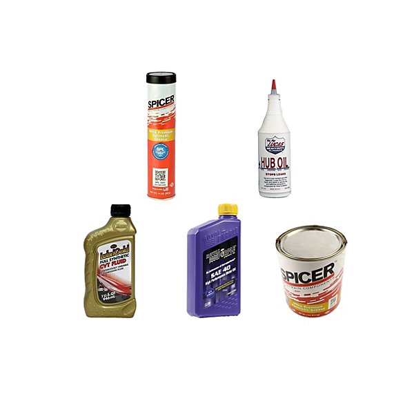Oil, Fluids & Grease