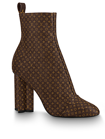LOUIS VUITTON Silhouette Ankle Boot Designers