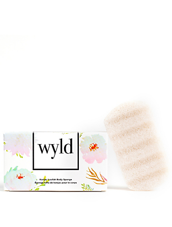 WYLD SKINCARE Konjac Loofah Body Sponge H Project No Color